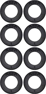 USA Made Micro Gainz Olympic Fractional Weight Plate Set of 8 .50LB Plates -Designed for Olympic Barbells, Used for Strength Training and Micro Loading w/Carrying Bag