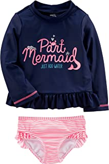 Baby and Toddler Girls' Assorted Rashguard Sets