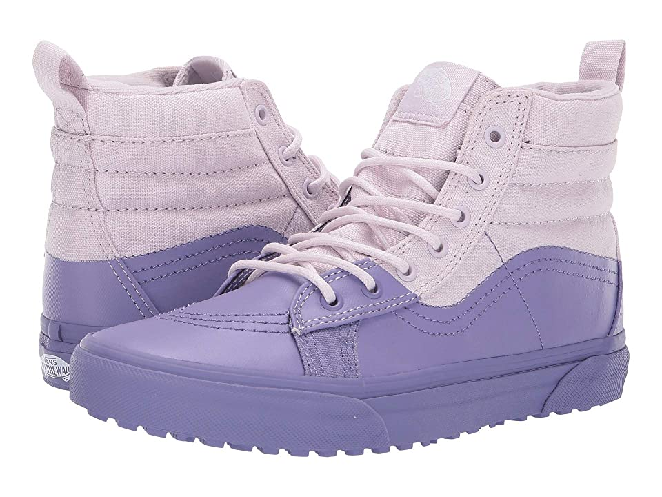 Vans Kids SK8-Hi MTE (Little Kid/Big Kid) ((MTE Dip) Lavender Fog/Veronica) Girls Shoes