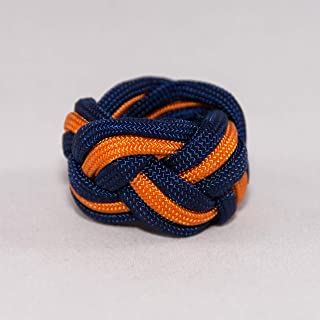 Tiger Neckerchief Slide Woggle Cub Scout Turks Head Knot