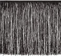 Expo International 18in Chainette Fringe Trim Black