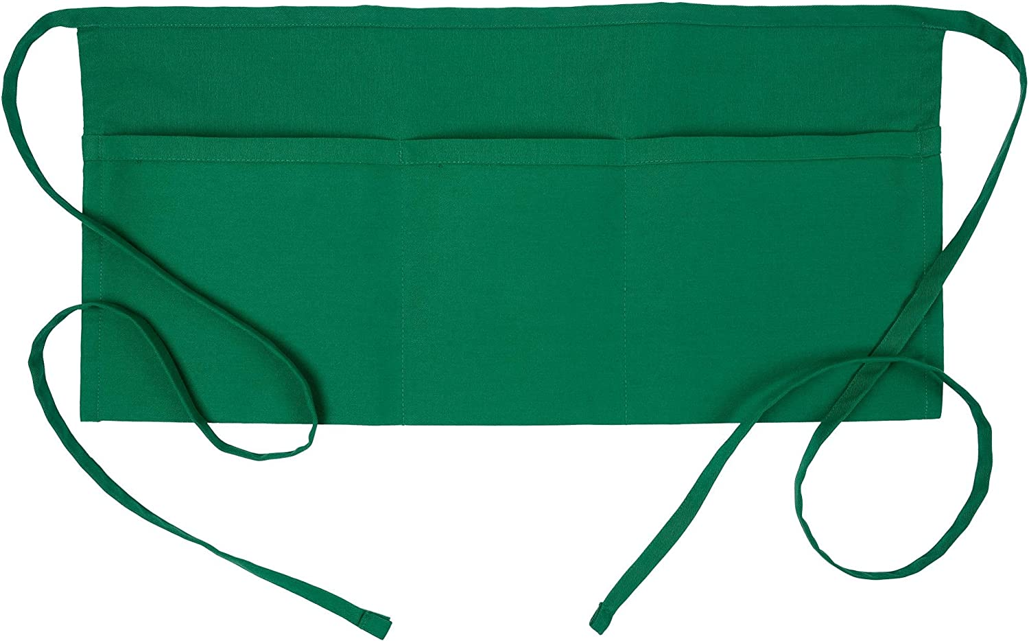 Fame Original 3 Today's only Pocket Waist Apron for O Cheap mail order sales Kelly Adults - in Green