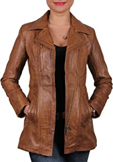 leather and sheepskin jacket womens