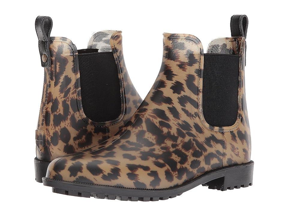 Joules Rockingham Chelsea Boot (Dark Leopard Rubber) Women