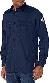 Sponsored Ad - Bulwark FR Men's Iq Series Comfort Woven Long Sleeve Patch Pocket Shirt