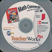Glencoe: Math Connects, Course 1 - Concepts, Skills, and Problem Solving, Indiana Edition - Teacher Works Plus CD-ROM
