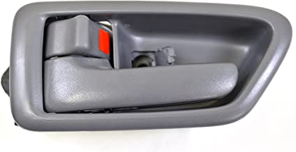 Passenger Side Front Inside Interior Inner Door Handle Fawn - Regular//Access Cab PT Auto Warehouse TO-2950E-FR Beige