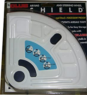 The Club SHL 704 Airbag and Steering Wheel Shield