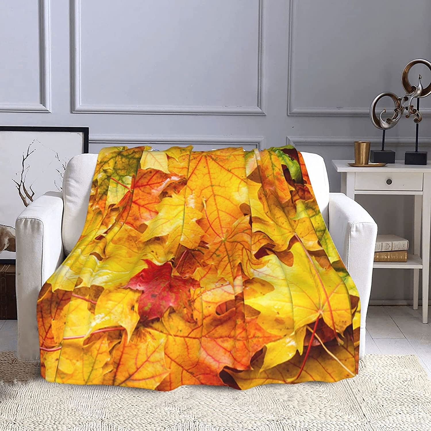 Wet Fall Leaves in Rainy Weather Tree November Ranking TOP13 Sale Special Price C Nature Maple