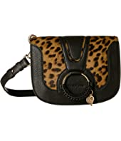 See by Chloe - Haircalf Leopard Hana Crossbody