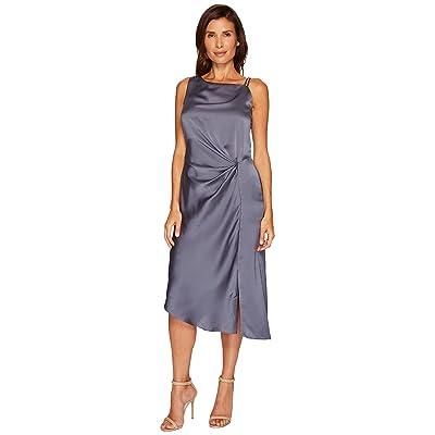 NIC+ZOE Side Ruched Dress (Typhoon) Women