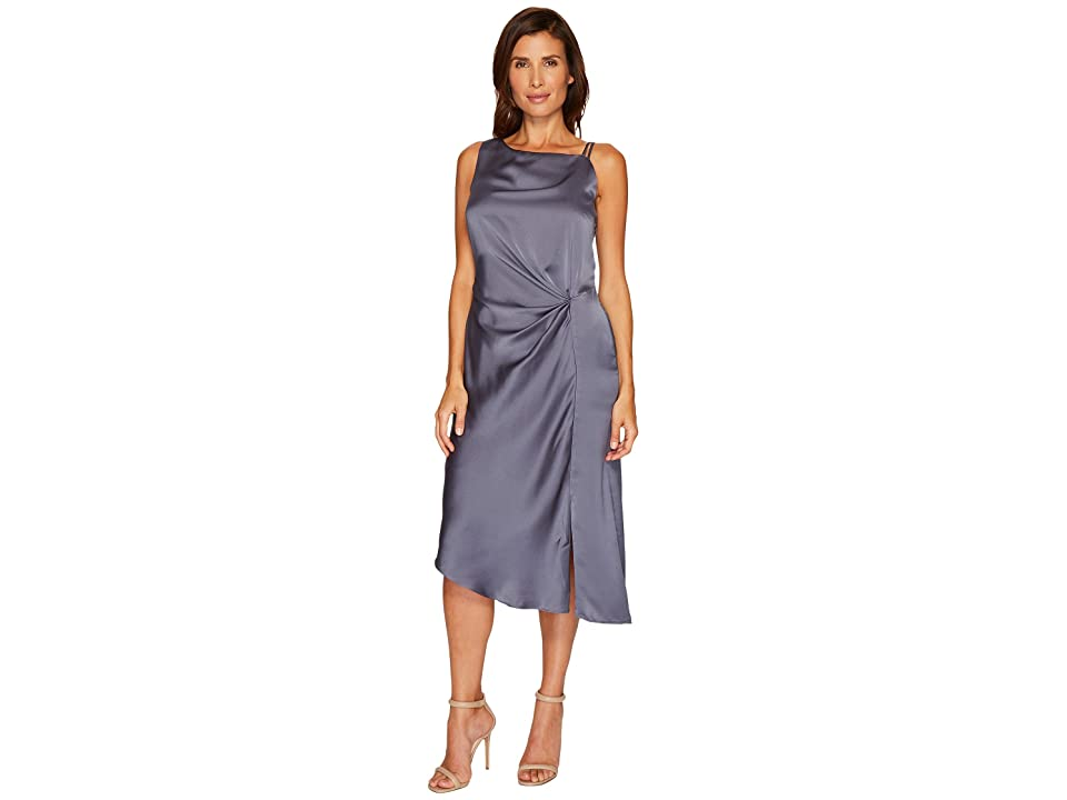 NIC+ZOE Side Ruched Dress (Typhoon) Women
