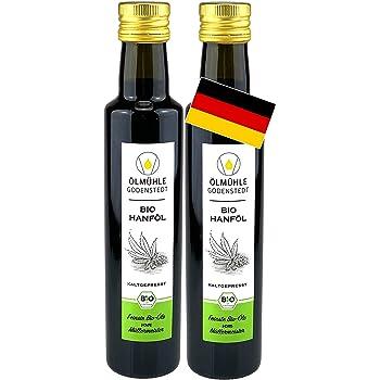 Bio Hanföl 1000ml (2x500ml) aus deutscher Bio Hanfsaat