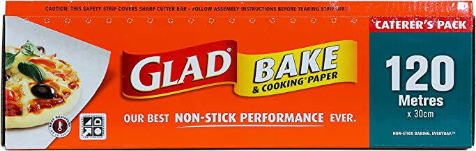 Glad Bake and Cooking Paper, 120 Metre Length