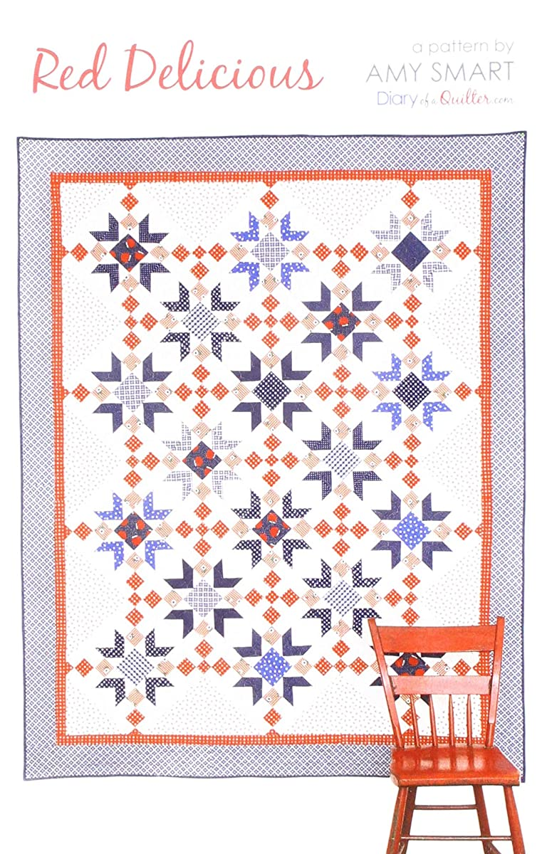 Amy Smart - Diary of a Quilter DQ-1803 Red Delicious Pattern