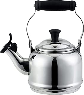 Le Creuset 1.2 Quart Stainless Steel Demi Tea Kettle