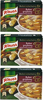 Knorr Bulion Grzybowy Na Borowikach Lesnych Mushroom Bouillon 60g (3-Pack)