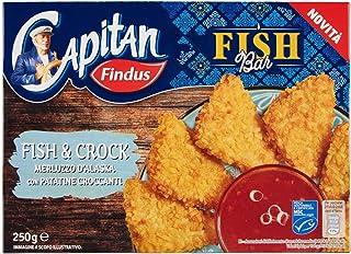 Capitan Findus Fish Bar, 250g (Surgelato)