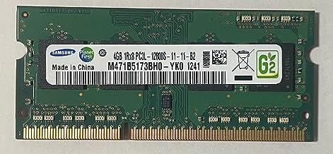 サムスン純正 PC3-12800(DDR3-1600) SO-DIMM 4GB ノートPC用メモリ DDR3L対応モデル (電圧1.35V & 1.5V 両対応)