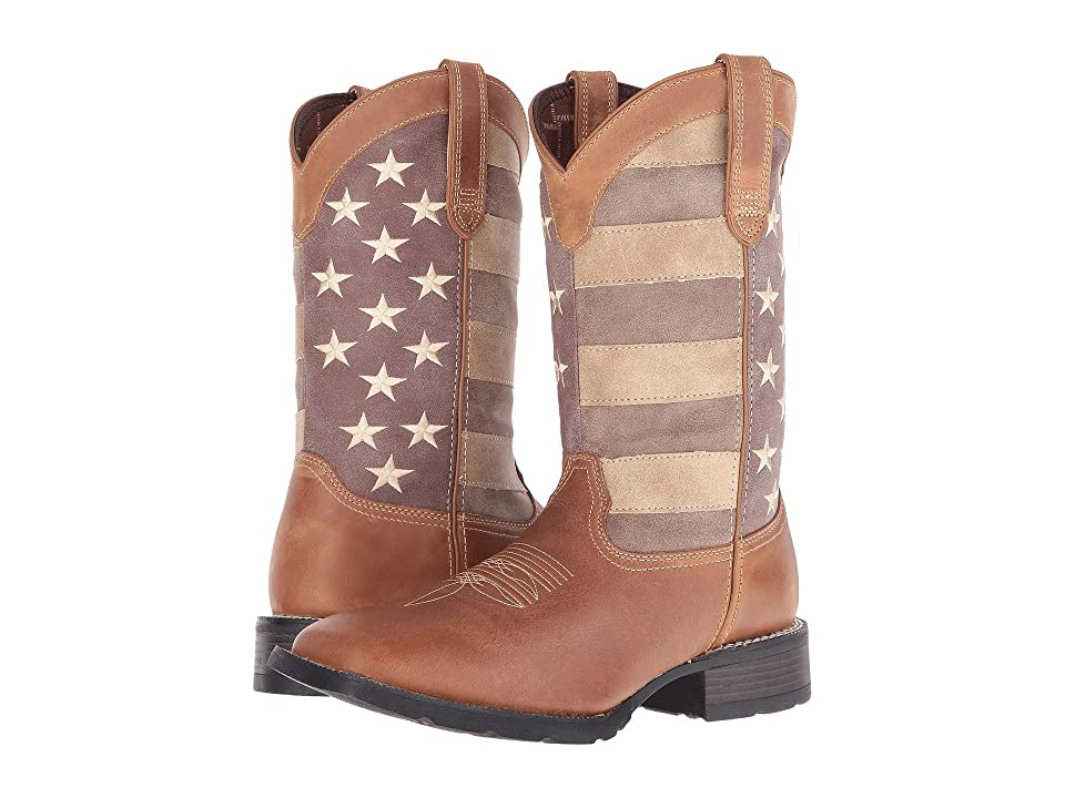 Durango Mustang 12 Faded Glory (Brown) Cowboy Boots