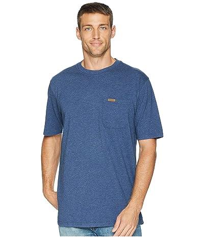 Pendleton Short Sleeve Deschutes Pocket Tee (Navy Blue Heather) Men