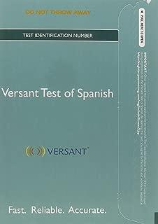 Best versant spanish test Reviews