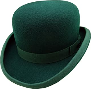RXIN Woolen Hat Mens Jazz Cap Derby Bowler Men Fedoras Hats