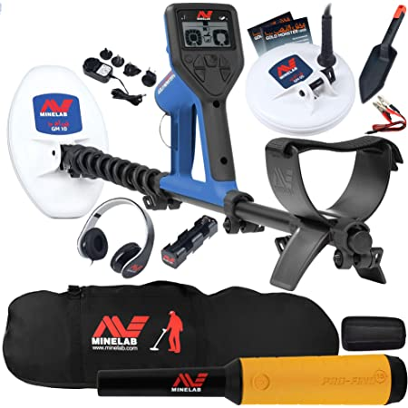 Minelab Gold Monster 1000 Bundle with Pro Find 15, Carry Bag, 2 Search Coils, and More