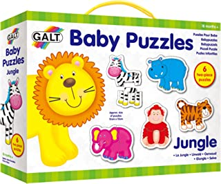 Galt Baby Puzzles - Jungle - 2pcs