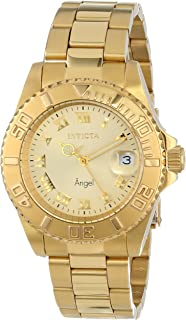 Invicta Women's Angel Gold-Tone Stainless Steel Watch (14321)