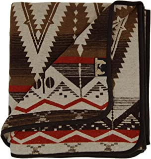 RUTH&BOAZ Outdoor Wool Blend Blanket Ethnic Inka Pattern(Q)
