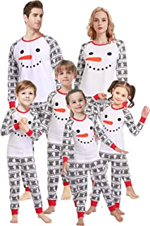 Christmas Family Matching Pajamas Set Santa's Deer...