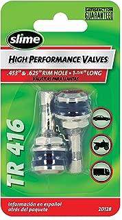 Slime 20128 Chrome High Performance Tire Valve Stems, 1-1/4