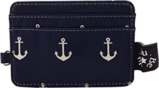 JuJuBe Be Charged Compact Slotted Card Case, Nautical Collection - The Admiral