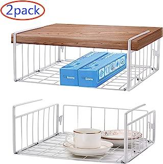 kitchen shelf baskets