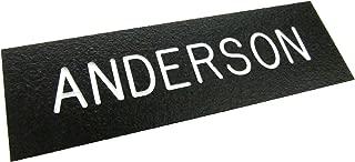 Custom Name Plate for Army Service Uniform ASU