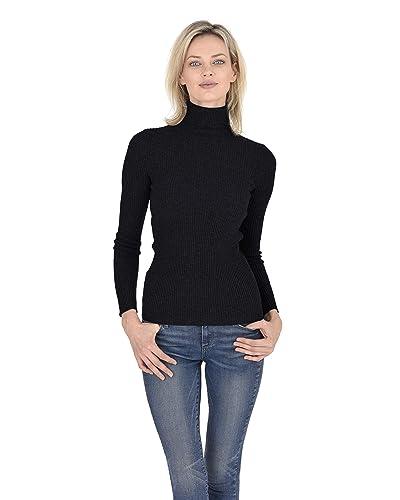 fe9e1f94cbb9f7 Black Twist Sweater: Amazon.com