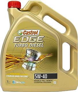 Castrol EDGE Turbo Diesel Huile Moteur 5W-40 5L (Etiquette allemande)