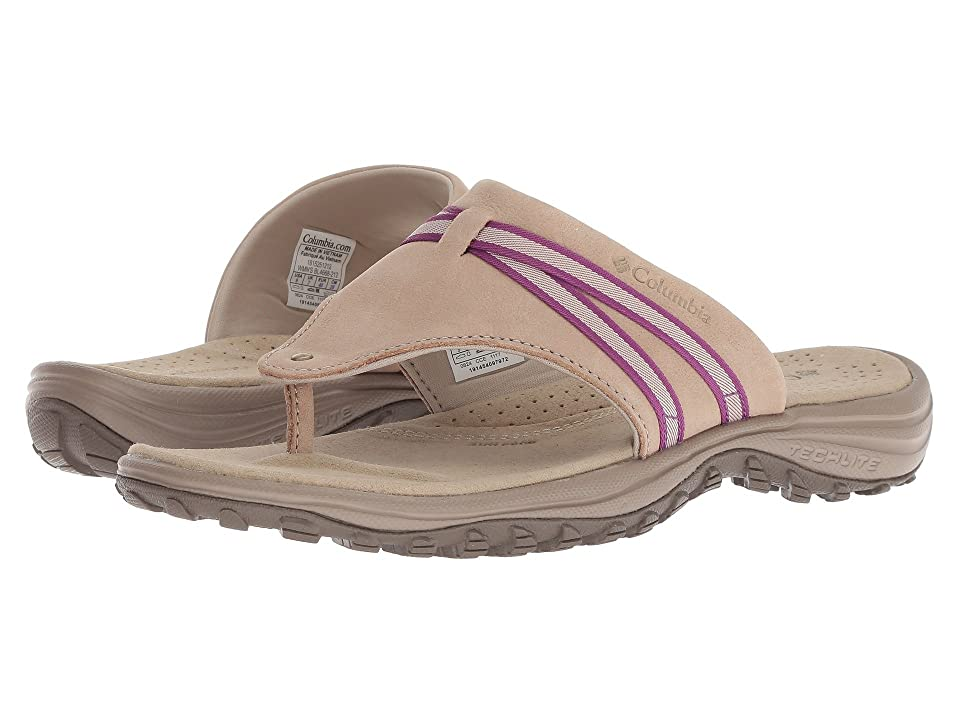 Columbia Santiam Flip (Oxford Tan/Intense Violet) Women