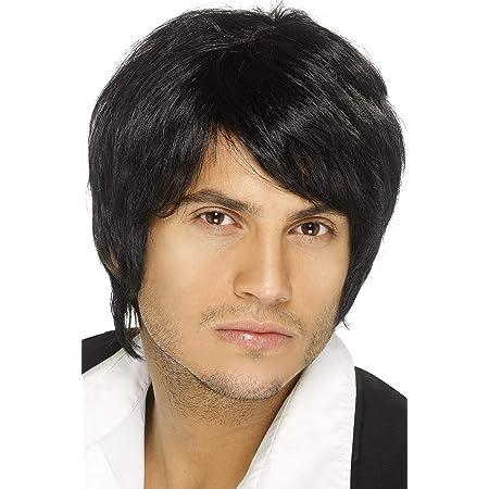 Smiffys Boy Band Wig - Black