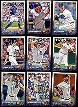 Detroit Tigers 2015 Topps MLB Baseball Regular Issue Complete Mint 23 Card Team Set with David Price, Miguel Cabrera, Justin Verlander Plus