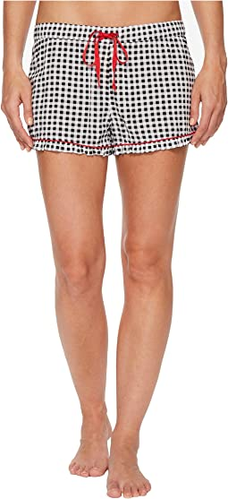 Rock 'N Rose Checked Shorts