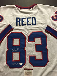 Autographed/Signed Andre Reed