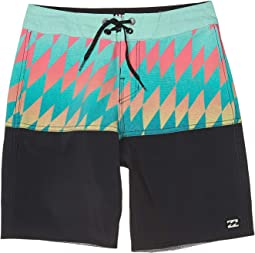 Boardshorts Navy Billabong Fifty50 LT