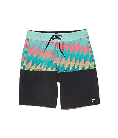 Billabong Kids Fifty50 Pro Swim Shorts (Big Kids) (Aqua) Boy