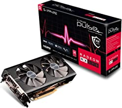 Sapphire 11289-06-20G Radeon Pulse RX 590 8GB GDDR5 Dual HDMI/ DVI-D/ Dual DP w/ Backplate (UEFI) PCI-E Graphic Cards (Ren...