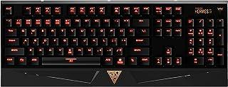 (Renewed) GAMDIAS Hermes Lite Gaming Keyboard (GKB1000RD)
