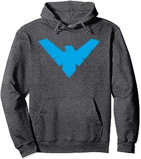 Batman Nightwing Symbol Pullover Hoodie Pullover Hoodie