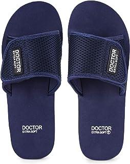 DOCTOR EXTRA SOFT Slipper for Men's - Ortho Care Orthopaedic and Diabetic Comfortable Doctor Slipper, Dr. Slipper, Flip-Fl...