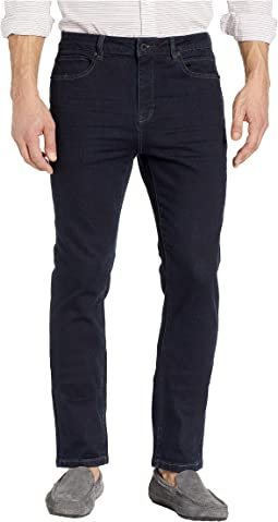 Stretch Bleeker Slim Fit Jeans in Dark Indigo